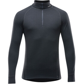 Devold Duo Active Zip Neck Midlayer Heren zwart